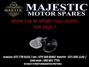 bmw e46 m-sport fog lights