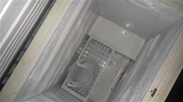 Box chest freezer