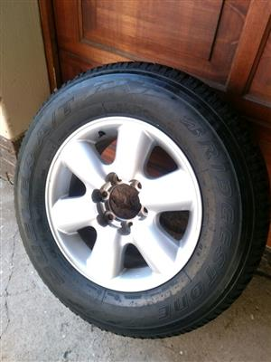 Old Shape Toyota Fortuner and Hilux 17 Inch Sparewheel with
