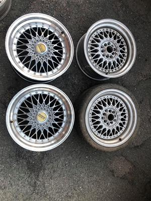 BBS 17 all wides rims only