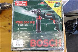 500W Bosch PSB 500 RE Drill