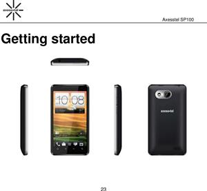 SP100 Android phone