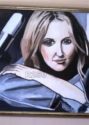 R450 ORIGINAL ACRYLIC PAINTING FOR ONLY R450!!