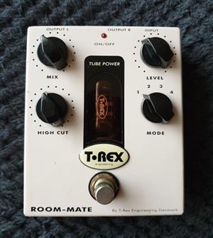 T-Rex Room-Mate Reverb - 12AX7 Valve - Guitar Effects Pedal
