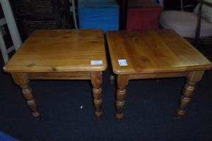 2 Wooden Coffee Tables