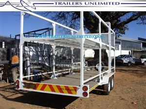 TRAILERS UNLIMITED 6000 X 2000 X 2400MM TRAILER FOR BICYCLES.