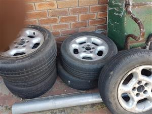 VW Rims & Tyres for sale