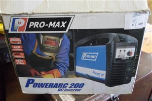 Pro-Max Powerarc 200 Dc Inverter Welder
