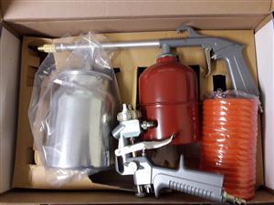 Spray gun kit 3 piece
