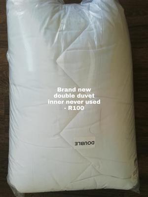 Double bed Duvet inner.