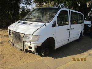MERCEDES BENZ VITO 112 STRIPPING FOR SPARES