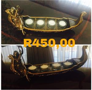 Candle holder boat for sale