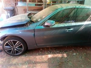 2014 Accident Damaged Cars Infiniti