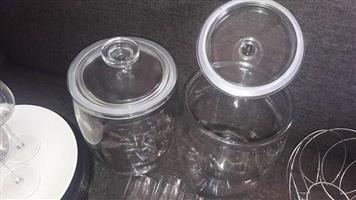 Glass items / kitchen