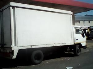 Truck for hire transport delivery
