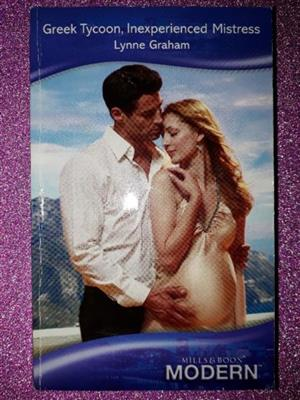 Greek Tycoon, Inexperienced Mistress - Lynne Graham - Mills & Boon - Pregnant Brides #3.