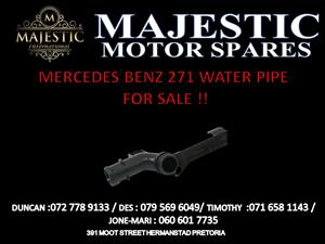 MERCEDES BENZ 271 WATER PIPE