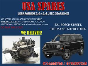 JEEP PATRIOT GEARBOX. USA SPARES