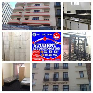 2020 Student Accommodation in Johannesburg No Deposit