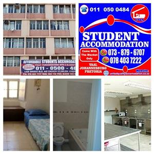 Year 2020 STUDENT ACCOMMODATION IN PRETORIA-ARCADIA