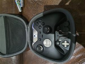 Xbox one Elite with Scuf remote