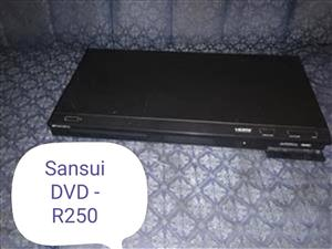 Sansui DVD player.