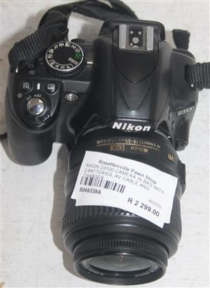Nikon d3100 camera in bag with charger S046339A #Rosettenvillepawnshop