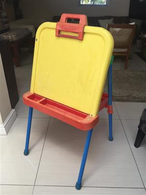 Fisher Price activity centre Easel with tray and work top