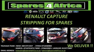 RENAULT CAPTURE STRIPPING FOR SPARES