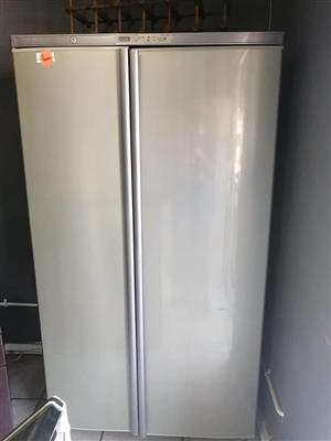 Defy 640L double door fridge