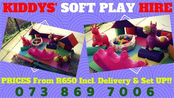 Kids Soft Play Hire Special - including Set up And Delivery