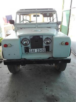 1969 Land Rover Series 3