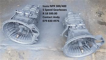 Gearboxes for sale NPR300/400