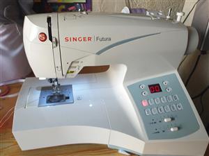 Singer futura CE350 embroidery machine