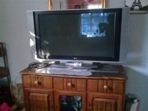 "40"" LG flatscreen tv met remote"