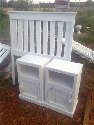 White bedroom suite for sale