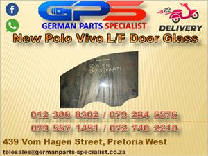 New VW Polo Vivo L/F Door Glass for Sale
