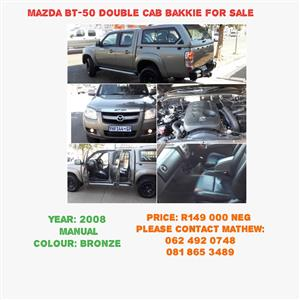 2008 Mazda BT-50 3.0CRD double cab SLE