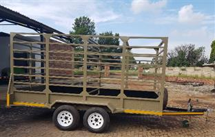 New 2018 BEES/ CATTLE TRAILER