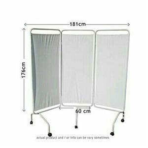 Hospital / Clinic  Bed screen 3-fold