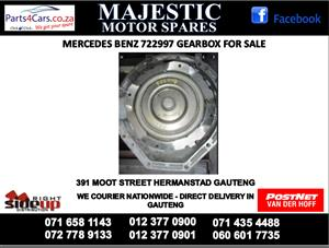 Mercedes benz 997 gearbox for sale