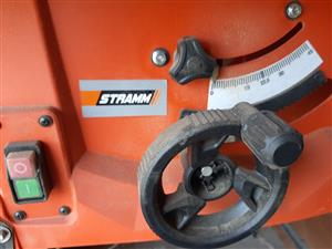 """Stramm Table Module Wood saw on it""""s own stand"""
