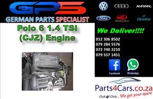 VW Polo 6 1.4 TSI (CJZ) Engine for Sale
