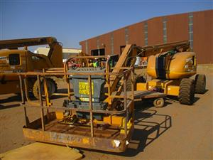 JLG 600AJ Articulating Boom Lift - ON AUCTION