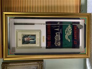 Bobby Locke golf memorabilia