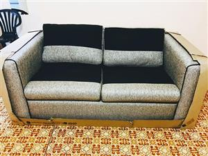 A single 2 seater couch