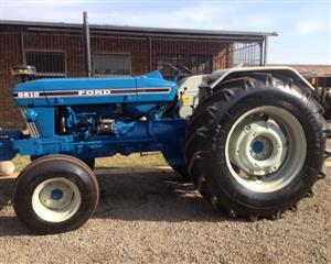 S3260 Blue Ford 6610 Pre-Owned Tractor