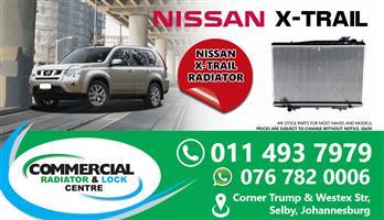 NISSAN X-TRAIL 2011 RADIATORS