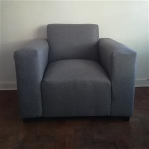 New grey couch