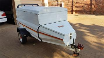 Venter Elite 6ft trailer with extension